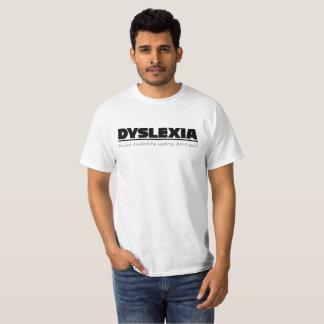 Camiseta Erro de ortografia da dislexia