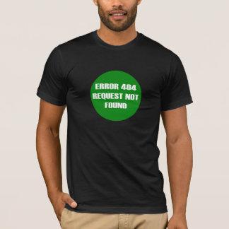 Camiseta Error-404-Request-Not-Found