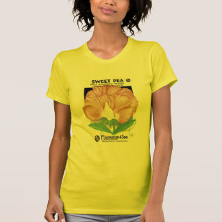 Camiseta Ervilha doce, cedo florescência, F. Lagomarsino &