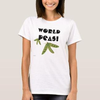 Camiseta Ervilhas do mundo