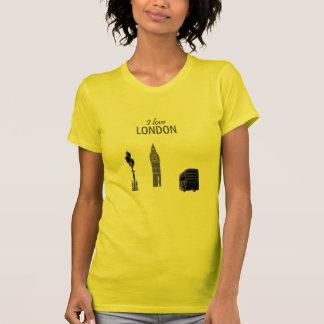 Camiseta Esboço à moda moderno Big Ben elegante de Londres