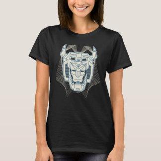 Camiseta Esboço azul de Voltron   Voltron e branco