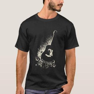 Camiseta Esboço da guitarra de Truman