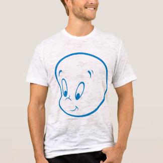 Camiseta Esboço do azul de Casper