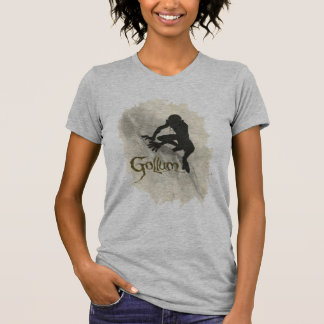 Camiseta Esboço do conceito de Gollum
