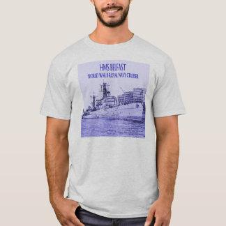 Camiseta Esboço do HMS Belfast