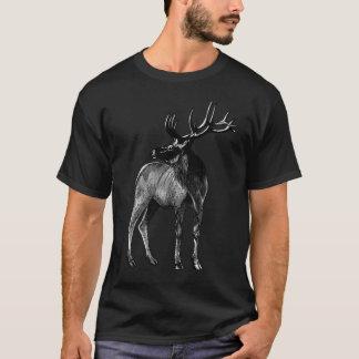 Camiseta Esboço dos alces