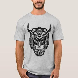Camiseta Esboço fraturado cabeça de Voltron   Voltron