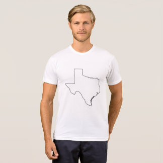 Camiseta Esboço T customizável de Texas