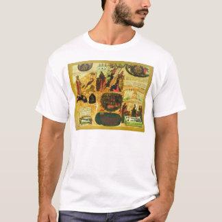 Camiseta Escada celestial com parábolas e exortações