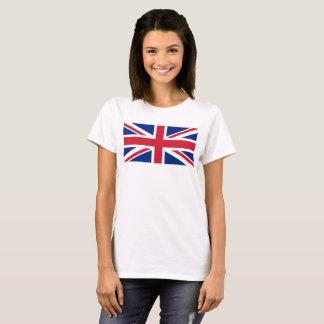 Camiseta Escala BRITÂNICA do 1:2 da bandeira de Union Jack