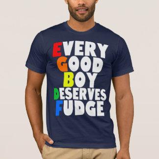 Camiseta Escala musical no arco-íris