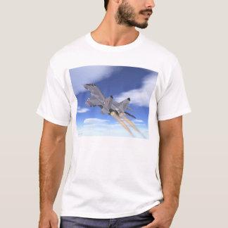Camiseta Escalada do dispositivo de pós-combustão de