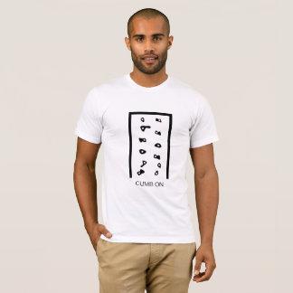 Camiseta Escalada no t-shirt da escalada