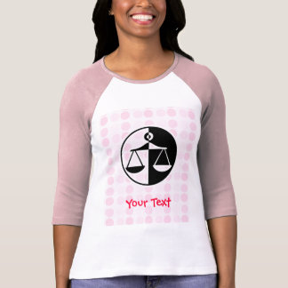 Camiseta Escalas bonitos de justiça