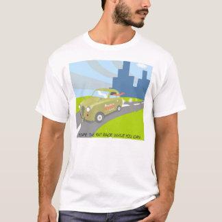 Camiseta Escape a competição desenfreada quando você puder