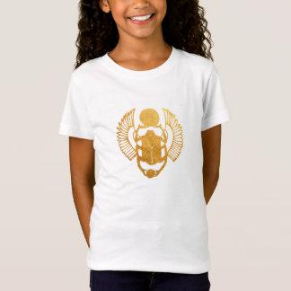 Camiseta Escaravelho Egipto. Besouro voado egípcio do