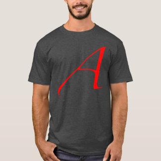 Camiseta Escarlate ateu um t-shirt