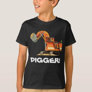 Camiseta Escavador feito sob encomenda do caminhão da