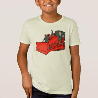 Camiseta Escavadora vermelha grande
