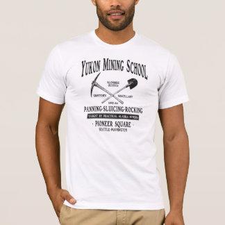 Camiseta Escola da mineração de Yukon