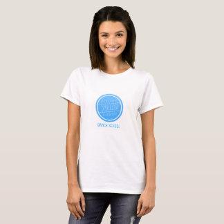 Camiseta Escola de dança T-Shrit do LYT das mulheres