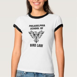 Camiseta Escola de Philadelphfia da campainha do vintage da