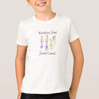 Camiseta Escola de Winchelsea, o conselho estudantil