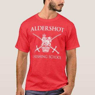 Camiseta Escola do revestimento de Aldershot - exército