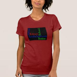 Camiseta Escola floral floralschool.com de Rittners