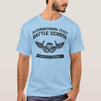 Camiseta Escola internacional Ender da batalha da frota