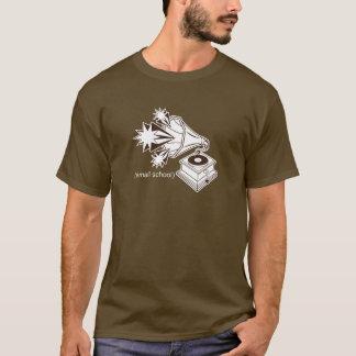 """Camiseta escola pequena """"fonógrafo """""""