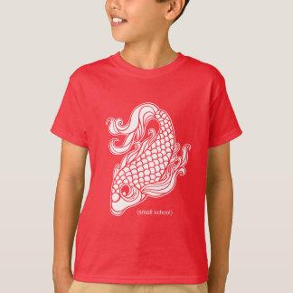 "Camiseta escola pequena ""Koi """