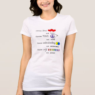 Camiseta Escolha
