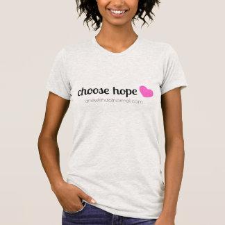 Camiseta Escolha a esperança
