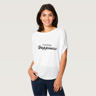 Camiseta Escolha a felicidade