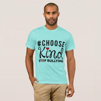 Camiseta Escolha a luz tiranizando do t-shirt da parada