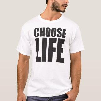 Camiseta Escolha a vida