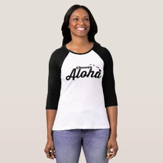 Camiseta Escolha Aloha