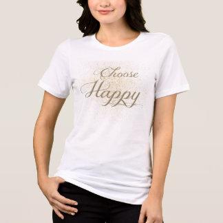 Camiseta Escolha feliz