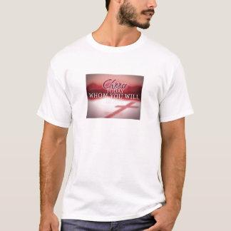 Camiseta Escolha hoje quem você servirá