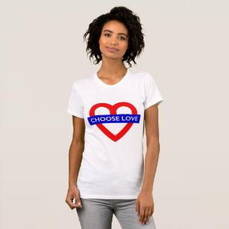 Camiseta Escolha o amor