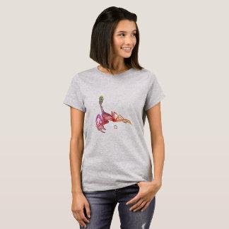 Camiseta Escorpião 3D colorida