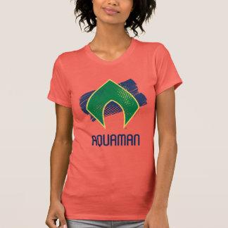 Camiseta Escova da liga de justiça   & símbolo de intervalo