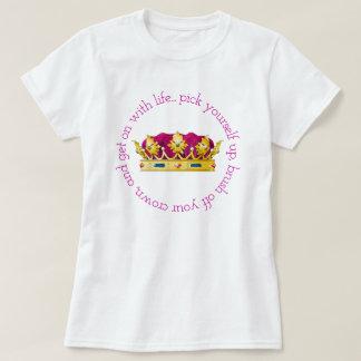 Camiseta Escove fora sua coroa