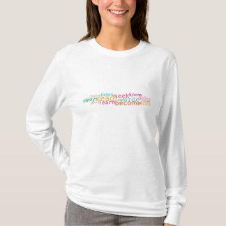 Camiseta Escreva, defina, inspire