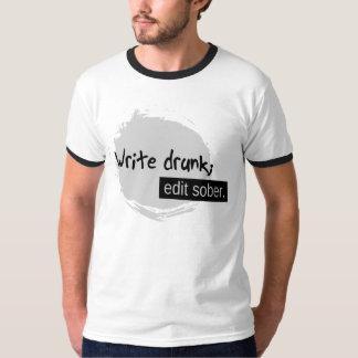 Camiseta Escreva o bebado; Edite moderado