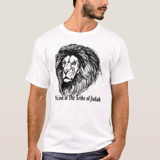 Camiseta escreva o leão, o leão do tribo de Judah