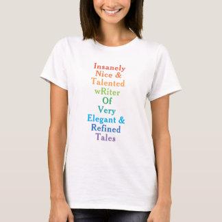 Camiseta Escritor introvertido? Slogan inteiramente