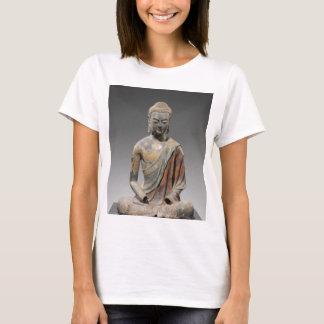 Camiseta Escultura descolorada de Buddha - dinastia de Tang